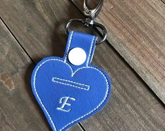 Aldi Quarter Keeper, Aldi Keychain, Personalized Aldi Key Chain, Aldi Quarter Holder, Initial Aldi Key Fob Quarter Saver---70 Colors!