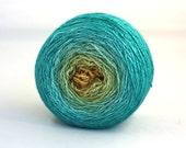 Ais - Hand dyed gradient - luxury silk/cashmere