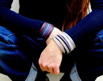Leather Bracelet, cuff bracelets, wrist band