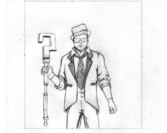 "Original Artwork - ""New Comic Day"" issue #330, Panel #3"
