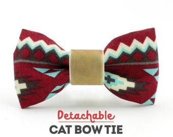 Aztek Detachable Cat Bow Tie - Collars Sold Separately