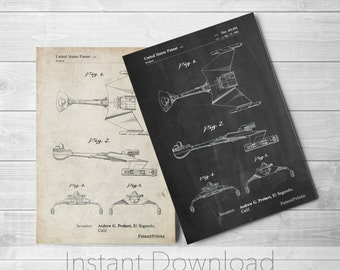 Star Trek Printables, Game Room Decor, Geek Gifts, Star Trek Print, Space Art, PP1053