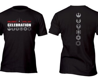 Exclusive Orlando Celebration 2017 Deluxe Black Custom Shirt All sizes up to Plus 5x
