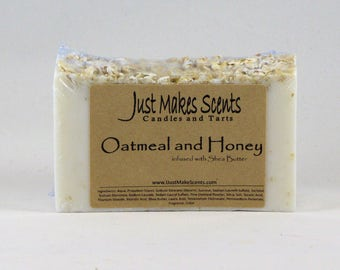 Oatmeal and Honey Soap, infused with Shea Butter