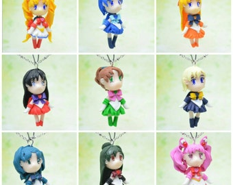 Sailor Moon Inspired Chibi Necklaces