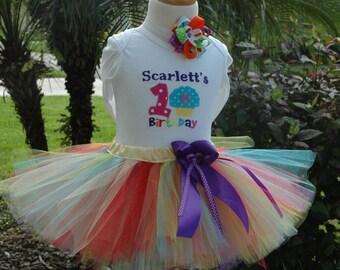 Rainbow Birthday Outfit,Rainbow Baby Shirt,Rainbow Birthday Party,Rainbow Birthday Shirt,Rainbow Baby Set,Rainbow Baby Tutu, Rainbow Outfit