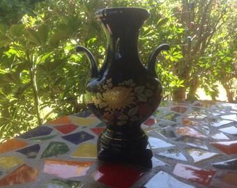 Vintage Bareuther Waldsassen Echt Cobalt Vase- Bavaria, Germany