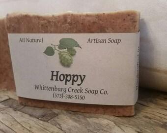 Hoppy Soap Bar // Vegan // Cascade Hops // Unscented // All Natural // Artisan // Cold Process