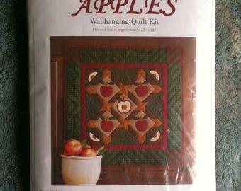 Apples Wallhanging Quilt Kit Apples Quilt  Rachel T Pellman  b45