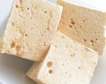 Marshmallows - Butterscotch Gourmet Marshmallows - Butterscotch - Gourmet Edible Gifts