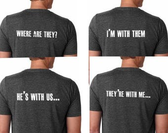 Bachelor Party Mens T Shirts- Mens Group T Shirts, Bachelor Party