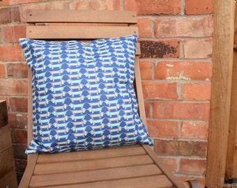 Dachshund/Sausage Dog Cushion Cover, Dachshund Gift, Dachshund Pillow, Handmade Cushion, Sausage Dog Cushion, Sausage Dog Gift