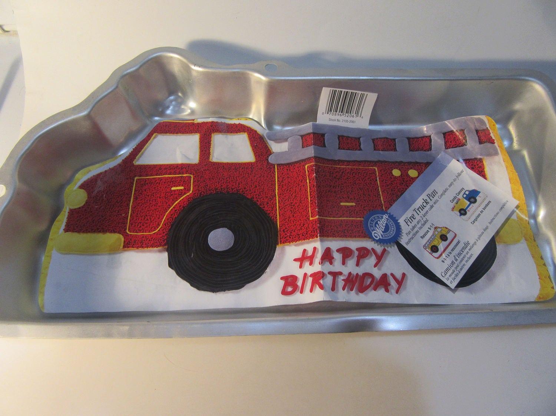 Fire Truck Cake Pan Canada