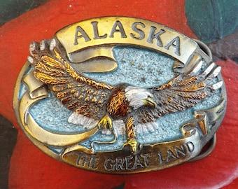 Alaskan Belt Buckle