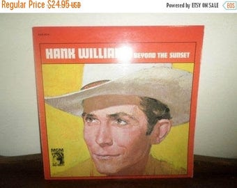 Save 30% Today Vinyl LP Record Beyond the Sunset Hank Williams Rare German Import Excellent Condition 4331