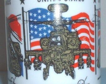 McDonnell Douglas-Boeing AH-64 Apache United States, Holland (Netherlands) & United Kingdom coffee mug
