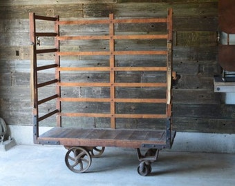 1920's Industrial Factory Cart ***Local Pickup Only***