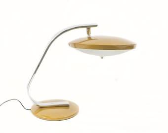 Lamp Brand Fase Model 520c Mustard color. 60s