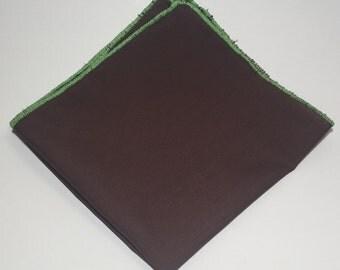 The Dapper Brown Pocket Square