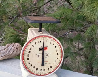 Hanson Model 2000 25 Lb Kitchen Scale Farmhouse Decor