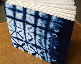 Shibori fabric Journal/Album
