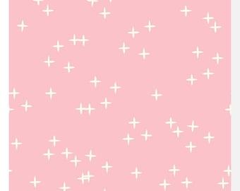 Mod Basics 3 WINK Pink by Birch - Organic Cotton (0.25m)
