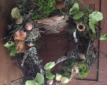 Woodland Harvest Collection, Woodland Table Scatter, Natural Botanical Materials for Crafting or Decorating