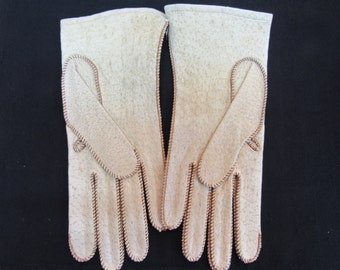 Vintage Townes Ladies Pigskin Gloves New from the 80's Size 7 1/2