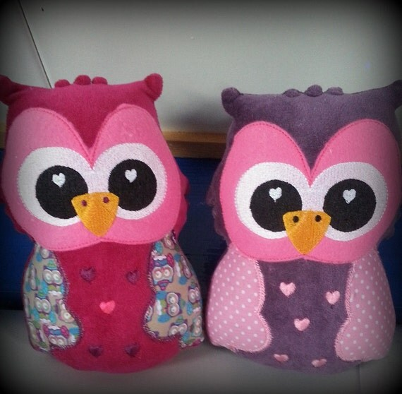 In the HOOP DIY Owl, DIY Softie Owl Embroidery,ith Embroidery Owl, Diy Embroidery, Owl Softie, Owl Plushie,