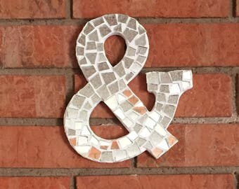 Mirrored Wooden Ampersand