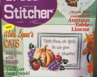 The Cross Stitcher Magazine October 2000