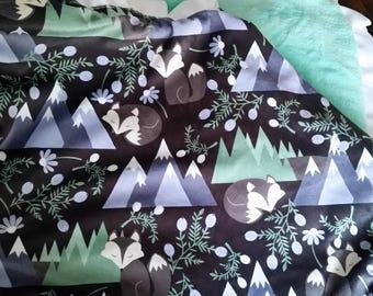 Foxy Minky Blanket