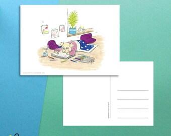 Little Piglet | Postcard (A6)
