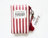 Waterproof business card/credit card Wallet,vintage popcorn packet.