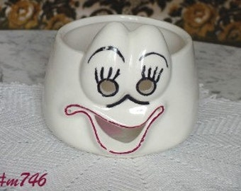 Vintage Pottery Ungemach Ghost Bowl (Inventory #M746)