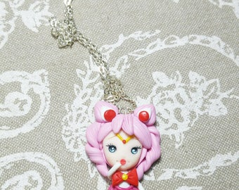 Chibiusa  fimo Sailor Moon anime manga fimo clay