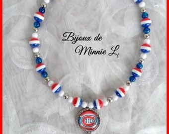Collier pour garçon *Canadiens*