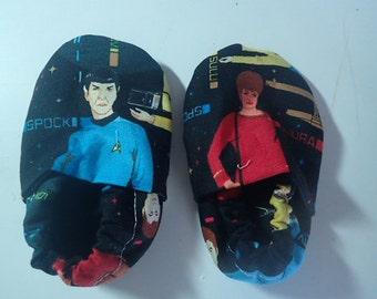 Crib shoes--Star Trek