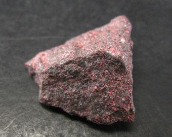 "Rare Red Cinnabar Cinabar Piece From Peru - 0.9"""