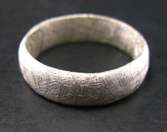 Meteorite Ring From Sweden - Size 14