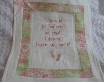 Baby Feet Imprint Etsy