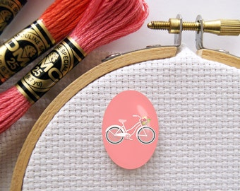Magnetic Bicycle Needle Minder for Cross Stitch, Embroidery, & Needlecrafts (18mmx25mm with Strong Magnet)