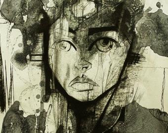 Portrait of Mari, The Dream Goddess by Lucinda Lyons