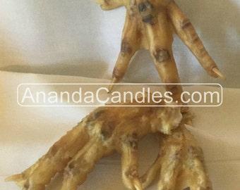 Hoodoo Dried Chicken Feet Witchcraft Voodoo Metaphysical