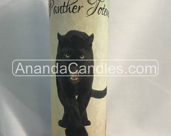 Hoodoo Voodoo Panther Totem Fixed 7 Day Candle Witchcraft