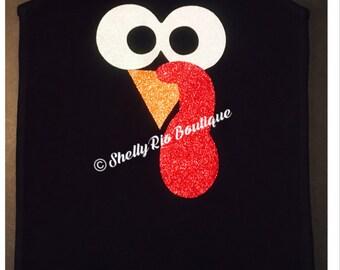 Turkey Trot Iron On, Thanksgiving Shirt, Turkey Shirt