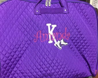ice skater Garment Bag personalized