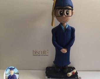 Custom Graduation topper (Mini sculpture)