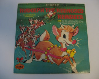 The Caroleer Singers - Rudolph The Red-Nosed Reindeer - Circa 1971
