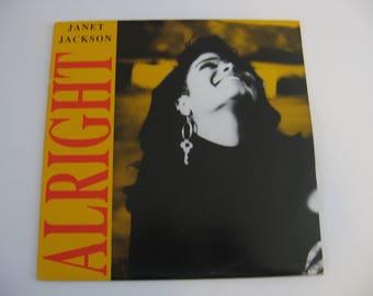 Janet Jackson - Alright - Maxi Single - Circa 1989